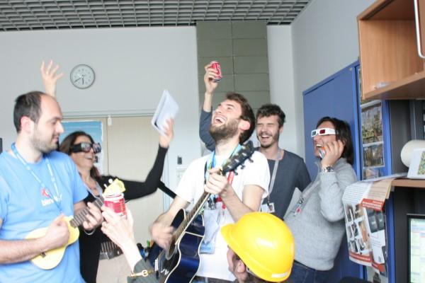 Festa grande in laboratorio