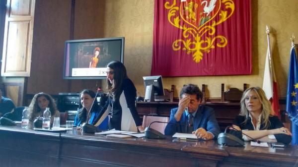 Conferenza stampa ad Orvieto