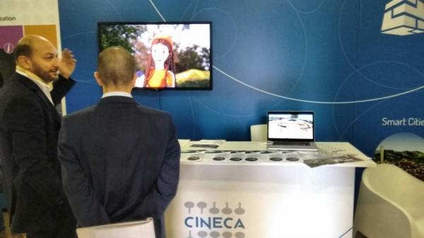 LUBEC 2015 - stand Cineca