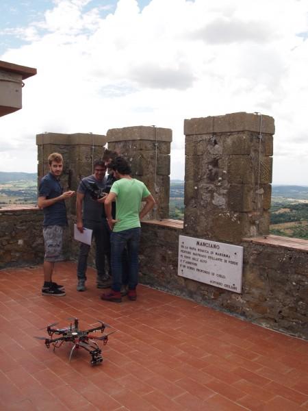 Drone a Manciano