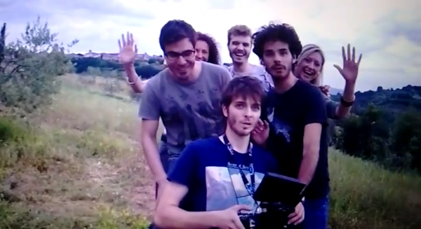 Selfie col drone