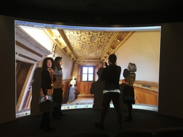 Virtual Studiolo nel Virtual Theatre