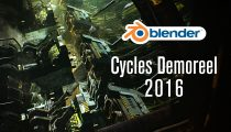 Ati nel Cycles demoreel