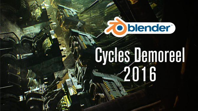 Ati nel Cycles demoreel