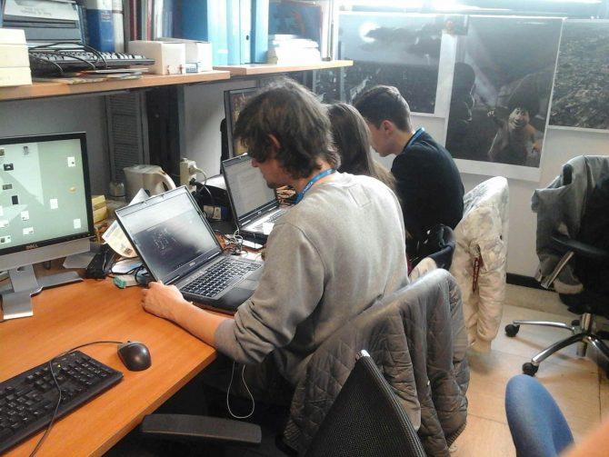 I ragazzi dell'Alternanza Scuola/Lavoro al VisitLab