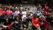 I bambini della IVB di Crespellano al Cineca