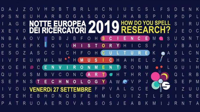 Notte europea dei Ricercatori 2019