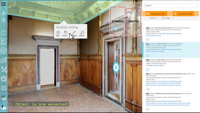 Ambienti virtuali interattivi come digital twin: tra scienza e creatività