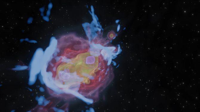 Veni, vidi, vici. Fiber of the Universe vince il NRAO image contest