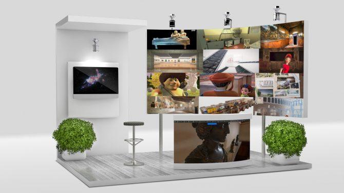 Stand virtuale per progetti reali